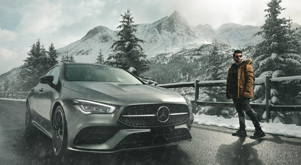 Spot Mercedes